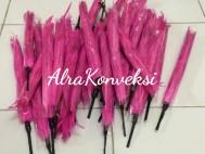 Bulu Drumband Pink